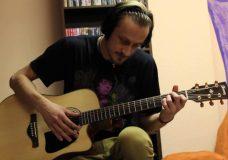 Уроки гитары. Бой Шестерка 1 вариант, с глушением