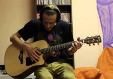 Уроки гитары. Бой Шестерка 3 вар. Эстрадный с глушением. Пример Мумий Тролль-Забава