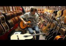 Уроки гитары. Как выбрать гитару. Эстрадная гитара.