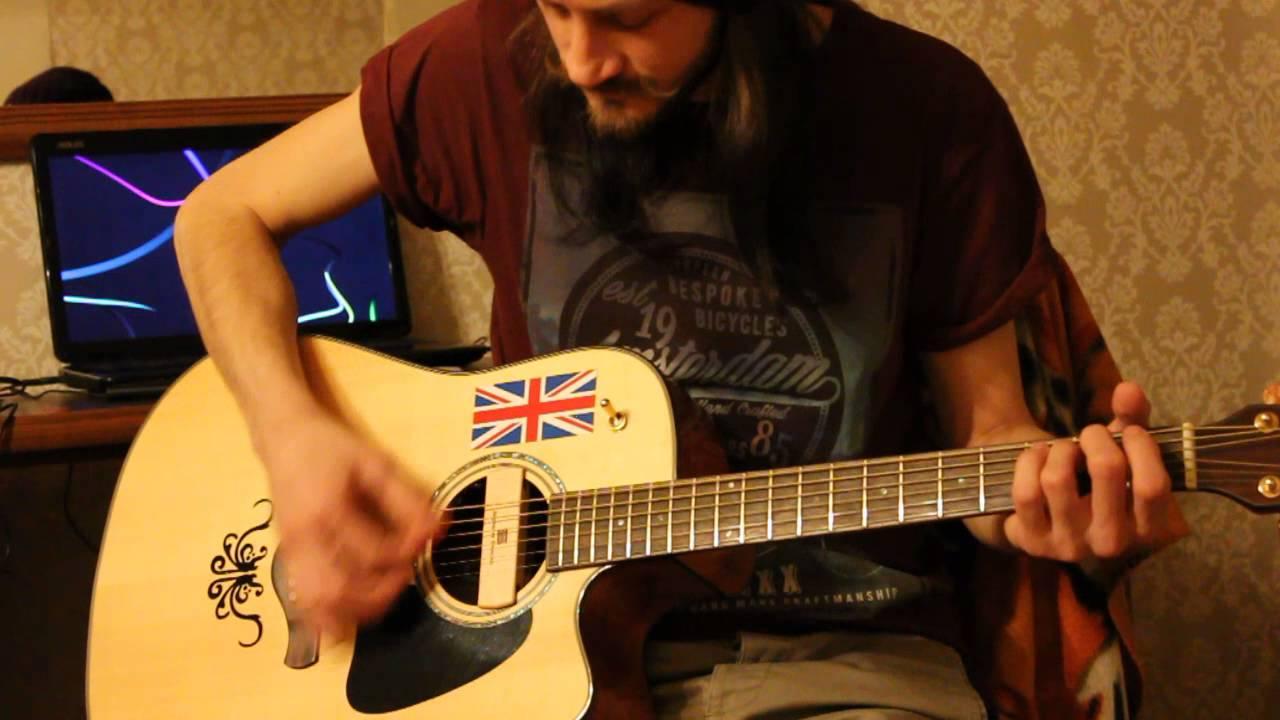 Уроки гитары. Медиатор. Пример 14. Бой Кантри (вар. 4), Рок (Сплин-Выхода нет)