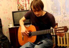 Уроки гитары. Настройка гитары.