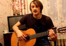 Уроки гитары. Настройка гитары. Нестандартный способ.