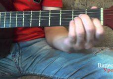Уроки гитары.Перебор для начинающих.Guitar lessons.Bust for beginners