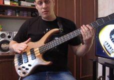 Уроки игры на бас гитаре. 'Slap' Урок 4 (double thumb bass slap, Часть 1)