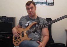 Уроки игры на бас гитаре. 'Тэппинг' Урок 1 (Основы звукоизвлечения)