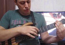 Уроки игры на бас гитаре. 'Тэппинг' Урок 3 (Аккорды, построение аккомпанимента)