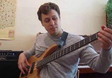 Уроки игры на бас гитаре. Урок 5 (Закрепление пройденного материала)