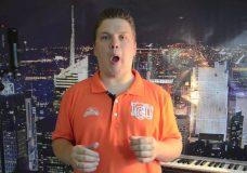Видео уроки вокала Развитие дикции и четкости Урок вокала от В.Кашеварова