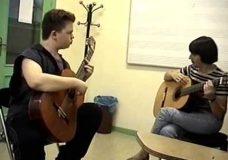 Waltz 1 - A. Duran (Guitar-school), Fragments lessons (3)