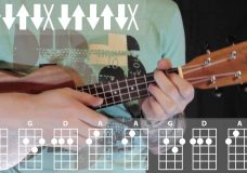 You and I by Lady Gaga Ukulele Tutorial Урок игры на укулеле от Ukulele Kid
