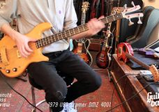 1979 USA Kramer DMZ 4001 One Minute Bass Review
