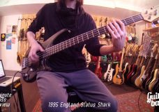 1995 England Status Shark One Minute Bass Review