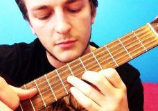2) Играем на гитаре первую мелодию перебор и бой цыганочка PIROLIZ .COM