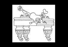 2. Как держать гитару. Уроки игры на гитаре