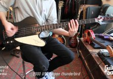 2000 USA Gibson Thunderbird One Minute Bass Review