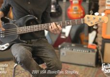 2001 USA Music Man Stingray One Minute Bass Review