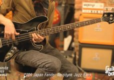 2004 Japan Fender Aerodyne Jazz Bass One Minute Bass Review