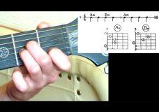 4. Аккорды для гитары для начинающих. Последовательности аккордов 1-6. Уроки игры на гитаре