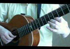 'вальс' Фортеа Классическая гитара. видео-урок