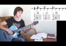 9. Последовательности аккордов 11-20 для гитары для начинающих. Уроки игры на гитаре