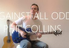 Against All Odds (Take a Look at me now) — Electric Guitar Cover — Phil Collins