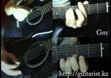 Агата Кристи — Черная луна (Уроки игры на гитаре Guitarist.kz)