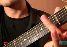 Агата Кристи — Я на тебе, как на войне (Аккорды, урок на гитаре)
