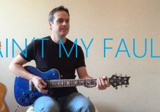 Aint My Fault — Electric Guitar Cover — Zara Larsson