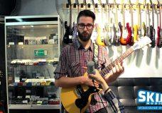 BITZ G Gibson MM-1 Melody Maker Satin Yellow SKIFMUSIC.RU