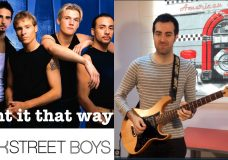 Backstreet Boys — I want it that way Electric guitar cover