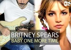 Britney Spears — Hit Me Baby One More Time — Electric Guitar Cover by Kfir Ochaion