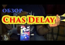 CHAS Delay pedal (видеоОбзор)