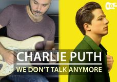Charlie Puth feat. Selena Gomez — We Don't Talk Anymore — Electric Guitar Cover by Kfir Ochaion