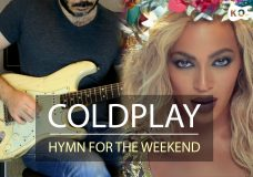 Coldplay — Hymn For The Weekend — Electric Guitar Cover by Kfir Ochaion