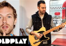 Coldplay electric guitar medley 4 hits