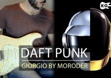 Daft Punk — Giorgio by Moroder — Electric Guitar Cover by Kfir Ochaion