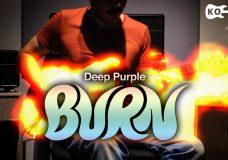 Deep Purple - Burn - Electric Guitar Cover by Kfir Ochaion