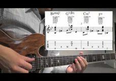 Джазовая гитара примеры аккордов