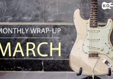 Electric Guitar Covers — Monthly Wrap-Up — March