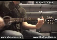 Электроакустическая гитара FLIGHT DCE-3