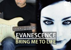 Evanescence — Bring Me To Life — Electric Guitar Cover by Kfir Ochaion