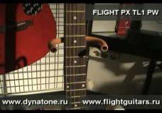 FLIGHT PX TL1 PW — Демонстрация звучания
