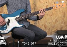 Fender Precision Bass comparison USA vs MIM vs JAPAN