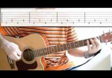 Гитара упражнение для пальцев рук -3