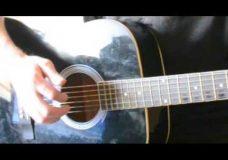 Гитара упражнение для пальцев рук — тренировка перебора
