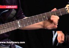 Гитарное соло в песне Smoke On The Water — Deep Purple. Уроки гитары.