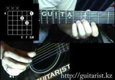 Градусы — Режиссер (Уроки игры на гитаре Guitarist.kz)