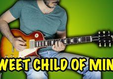 Guns N' Roses — Sweet Child O' Mine — Electric Guitar Cover by Kfir Ochaion
