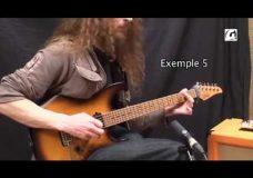 Guthrie Govan slap, slide and tapping Урок игры на гитаре