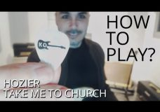 How to Play — Take Me to Church by Hozier on Electric Guitar — Guitar Lesson Tutorial